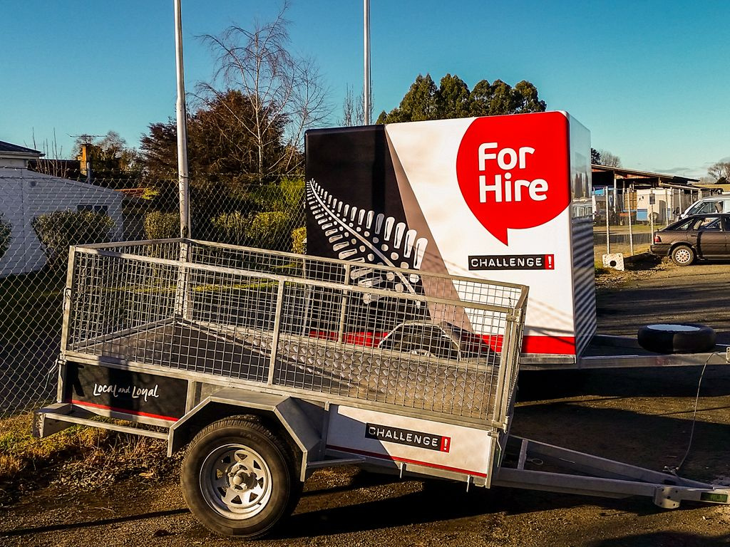 New Caged & Furniture Hire Trailers