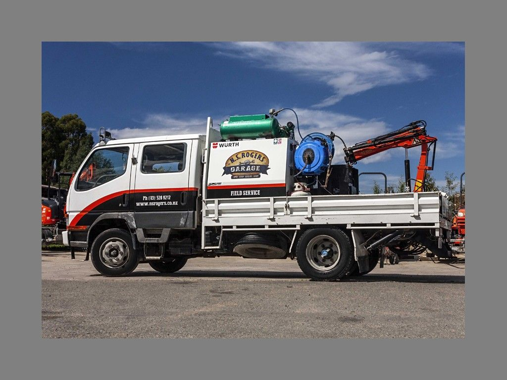 New On Site Truck for Heavy Equipment Department